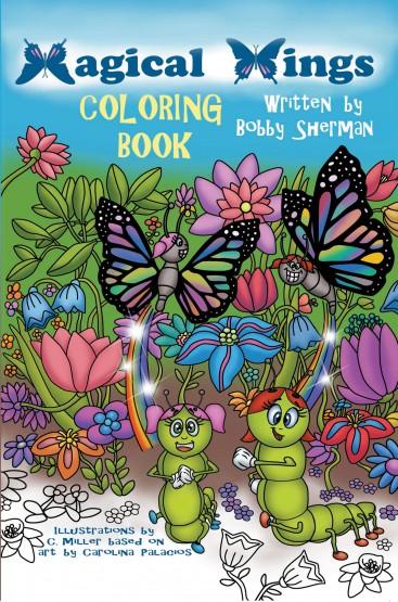 Magical Wings Coloring Book