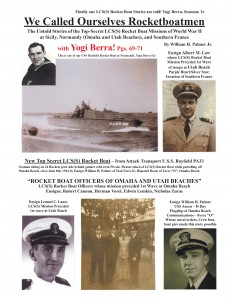 We Called Ourselves Rocketboatmen: The Untold Stories of the Top-Secret LCS(S) Rocket Boat Missions of World War II at Sicily, Normandy (Omaha and Utah Beaches), and Southern France