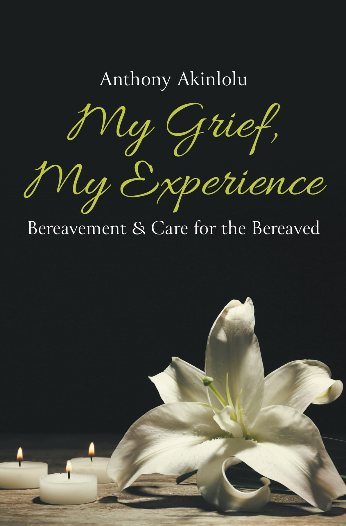 my grief my experience_front